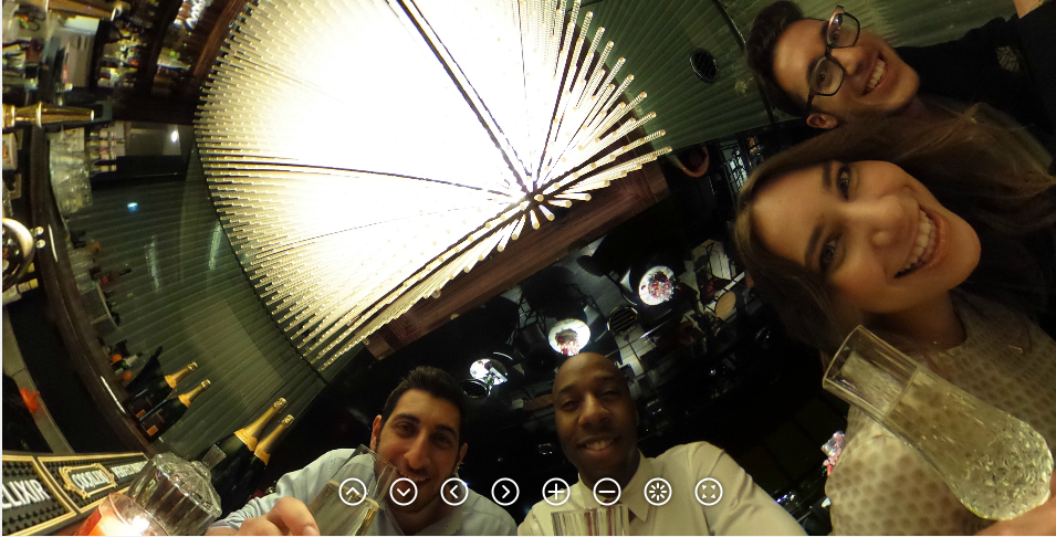 ricoh(リコー)の360度カメラ「theta(シータ)」