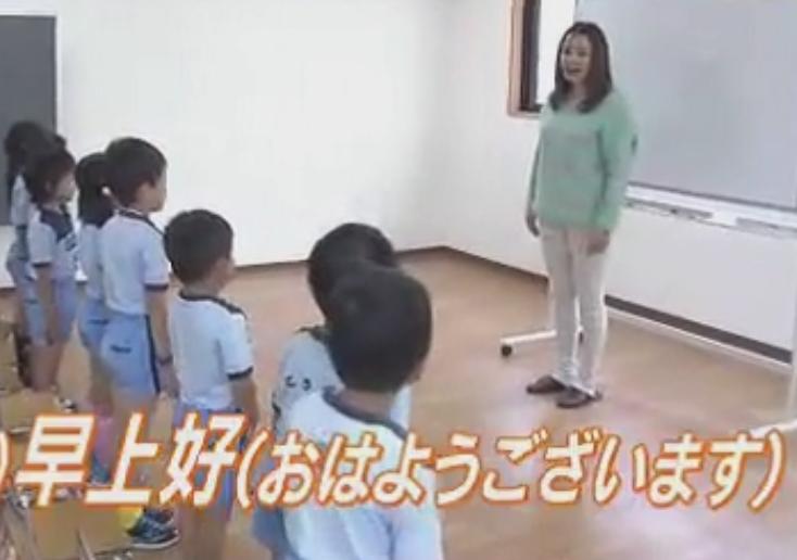 バディースポーツ幼稚園 外国語教育風景