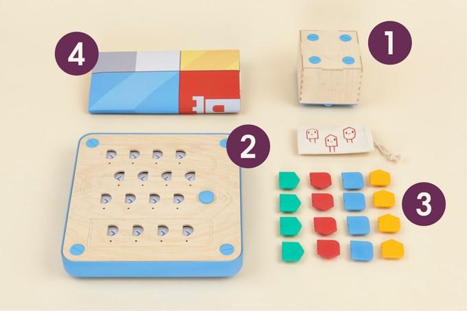 プログラミングが学べる知育玩具「Cubetto」3