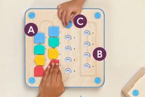 プログラミングが学べる知育玩具「Cubetto」5