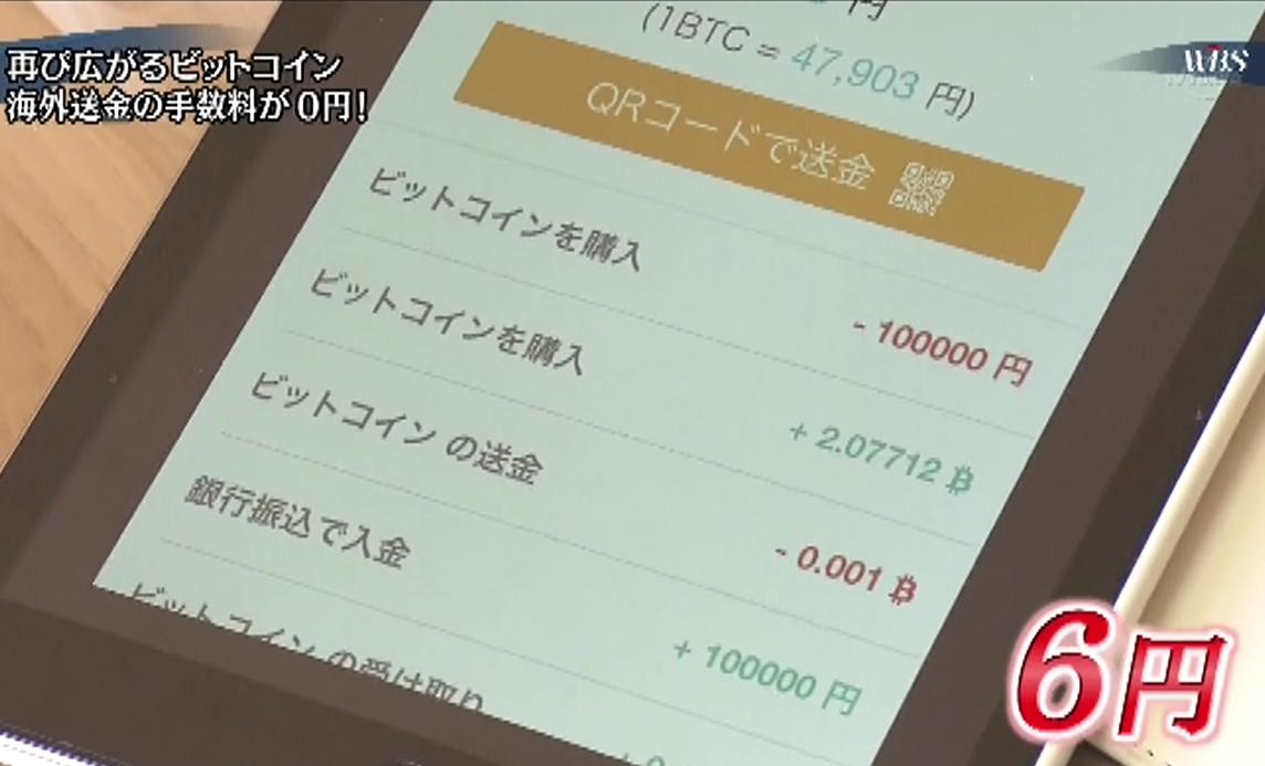 ビットコインの送料